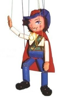 Pelham Puppet - Prince. Marionette