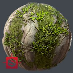 Substance Grassy Rocks, Olga Skrynnik on ArtStation at https://www.artstation.com/artwork/8dLgn