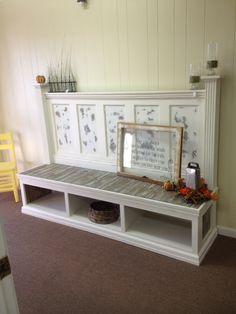 Merveilleux Vintage Door Bench. This Item Is Made From A Vintage 5 Panel Door U0026  Reclaimed