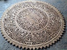 Imagine: beautiful, Thai wooden carving as an eyecatcher in your living room. Wooden Wall Panels, Wood Panel Walls, Wooden Walls, Lotus Flower Mandala, Wall Panel Design, Religious Symbols, Wood Headboard, Design Studio, Queen Size Bedding