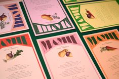 We created the identity, illustrations and menus for Mamie, the new parisian restaurant by Jean Imbert.We drew 2 custom fonts for Mamie's identity. Design Poster, Menu Design, Print Design, Logo Design, Design Design, Poster Designs, Typography Design, 2020 Design, Identity Design