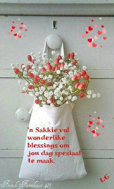 Good Morning Wishes, Good Morning Quotes, Birthday Wishes, Happy Birthday, Lekker Dag, Afrikaanse Quotes, Goeie Nag, Goeie More, Sweet Words