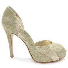 Sapato Laura Porto Peep Toe MH 9286 (Noiva Colorido)