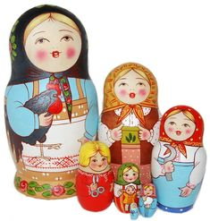 """Tradition 1900"" Russian Doll"