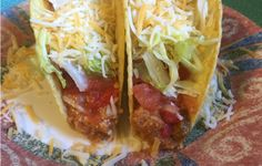 Slow Cooker Creamy Chicken Tacos - Shared by Facebook friend Cheryl R! YUMMY! EASY! www.GetCrocked.com