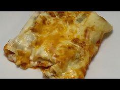Canelones de Carne en Monsieur Cuisine (Connect y Plus) - YouTube Bechamel, Carne Picada, Relleno, Ethnic Recipes, Food, Steak Pasta, Grated Cheese, Cooking Recipes, Meals