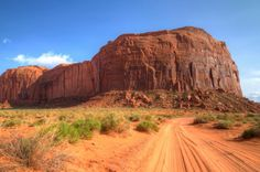 Monument Valley, Utah #travel #photography #reservation #mountain #dirtroad #landscape