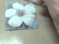 DIY: photo tinting with acrylic paints, tutorial by Claudine Hellmuth #painting #mixed_media #art