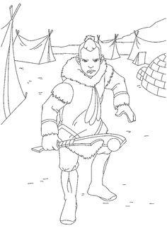 Avatar Tegninger til Farvelægning. Printbare Farvelægning for børn. Tegninger til udskriv og farve nº 7
