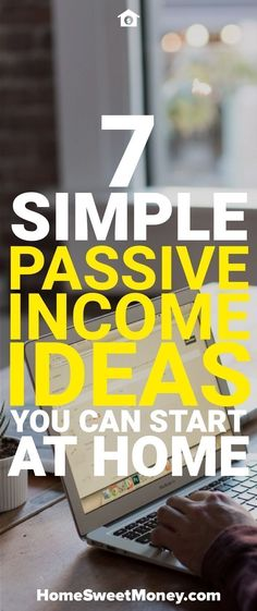 Passive income is a great way to make money. Here are some passive income ideas that anyone can do from home to make money while they sleep.