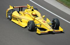 #3 Helio Castroneves - Shell Pennzoil Team Penske Chevrolet-Dallara DW12. 2014 Indy 500 2nd place