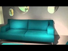 Italsofa in the Natuzzi showroom at High Point Market, Spring 2011, Part 1. By Chris Sparks, Editor of InteriorDesignVIP.com
