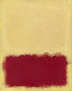 Mark Rothko: Untitled, Unsigned.