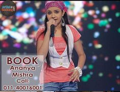 Book Ananya Mishra Artistebooking.com...!!  #AnanyaMishra #artistebooking #Singer ( #Online #Artist #Booking #Agency) The One Stop Shop For All Your Artists Need...!!  For More Details Kindly Visit -> http://www.artistebooking.com/Ananya-Mishra-Singer