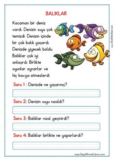 Untitled – My Pins Page Turkish Lessons, Grammar Tips, Learn Turkish, Turkish Language, 1st Grade Worksheets, Learn A New Language, Preschool Printables, Reading Passages, Stories For Kids