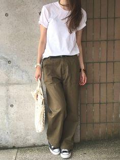 Japan Fashion, Daily Fashion, Love Fashion, Fashion Beauty, Womens Fashion, Fall Fashion Outfits, Denim Fashion, Modest Fashion, Casual Outfits
