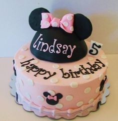Minnie Mouse Cake 12 by sandy