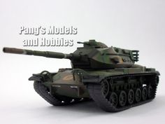 M60 Patton Main Battle Tank 1/72 Scale Die-cast Model by Eaglemoss