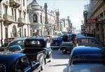 Vintage Vacation Photos: Downtown street, Monterrey, Mexico, 1949