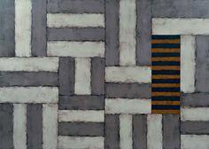 Sean Scully, Gabriel, detail, 1993, 259 x 366 cm. Col·lecció d'Art Contemporani, Fundació ''La Caixa'', Barcelona.