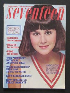 April 1976 cover with Barbara Elliot