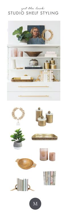Shelf Styling in the Studio - Get the Look | Studio McGee
