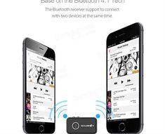 Bluetooth Car Hands Free Music ReceiverBlitzWolf® BW-BR1 V4.1 3.5mm AUX Audio  Puteți folosi BW-BR1 Blitzwolf  în mașină cu un conector aux de 3,5 mm. De asemenea, puteți utiliza aparatul BW-BR1 acasă șa il conectați cu difuzoarele pentru home theater. După configurare stereo cu orice tip de difuzoare, puteți să împerecheați telefonul smartphone, tableta, computerul, PSP sau orice alt dispozitiv audio care acceptă Bluetooth V4.1.