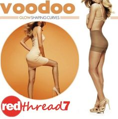 Voodoo Sexy Glow Shaping Curves Sheer Pantyhose