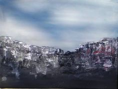 "Saatchi Art Artist Juhasz Tunde; Painting, ""Earthquake"" #art"