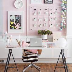 Loveeeeeee all the details of this office space!