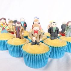 For Doctor Who fans -- Doctor Who Cupcakes