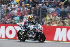 From Vroom Mag... Fourth row for Hector Barbera in wet qualifying session
