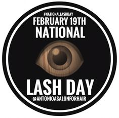On #February19th #LashLovers Nationwide 🇺🇸celebrate #NationalLashDay . On this #MotivationalMonday , #MakeoverMonday , #26DaysUntilStPatricksDay 🍀. #TreatYourself to a #GiftCard 💳or #GiftCertificate 🎟for a #StPatricksDayMakeover 🍀 at #AntonioASalonForHair