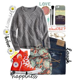 """""""Untitled #221"""" by lexii0827 on Polyvore featuring Milani, Abercrombie & Fitch, American Eagle Outfitters, Vera Bradley, Converse, Alex and Ani, Casetify, Maybelline and Illamasqua"""