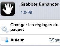 """Améliorez le bouton """"caméra"""" du lockscreen avec le tweak Grabber Enhancer - http://www.applophile.fr/ameliorez-le-bouton-camera-du-lockscreen-avec-le-tweak-grabber-enhancer/"""