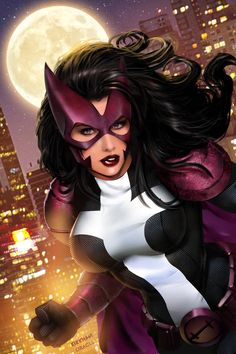 Huntress by Tyler Kirkham, colours by Mystic Oracle *