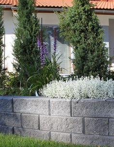 Lammin muurikivillä näyttävä kokonaisuus, jossa yhdistyy hyvä ulkonäkö, käytettävyys ja turvallisuus.