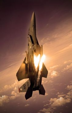 Jet fighter in action Military Jets, Military Aircraft, Air Fighter, Fighter Jets, Avion Jet, Us Air Force, Jet Plane, Fighter Aircraft, Space Travel