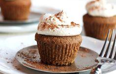 Low-Calorie Pumpkin Spice Latte Cupcake   Weight Watchers Recipes
