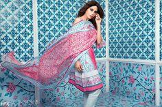 Sapphire Lawn by Khadijah Shah