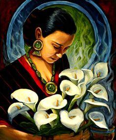 oil on canvas, Art by Ricardo Ortega