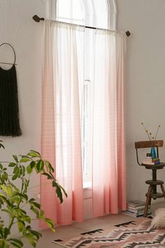 Assembly Home Diamond Fade Curtain - Urban Outfitters