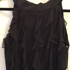 ANN TAYLOR LITTLE BLACK DRESS SIZE 6 new with tags Elegant Ann Taylor little black dress!  Hundred percent silk sleeveless with a stunning satin ribbon around neck for keyhole bow opening  new with tags Ann Taylor Dresses Midi