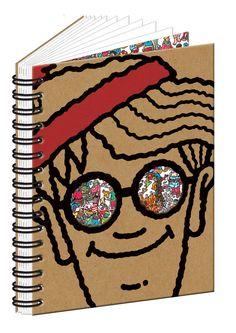Where s Wally A5 Notebook Wheres Wally 8d0a30e76