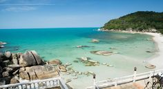 Thong Takian Beach (Silver Beach) at Koh Samui island. Check out more about The Ultimate Guide to Samui Beaches . http://www.thesamuivillas.com/2015/09/the-ultimate-guide-to-samui-beaches/