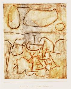 Historic ground, 1939 - Paul Klee - WikiArt.org