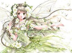 White rose fairy 2 - Shiitake Gensodo