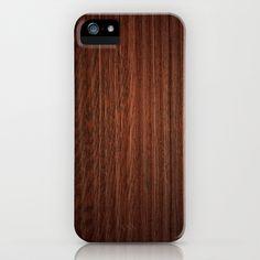 Wood #3 iPhone & iPod Case by Dr. Lukas Brezak - $35.00