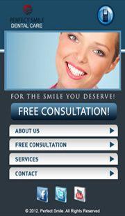 Dental Care Mobile Website.  Creative Mobile Web Design   Tel: + 60 6 2922 643  http://creativemobilewebsite.com