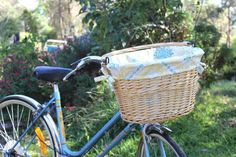 DIY Bike Basket!